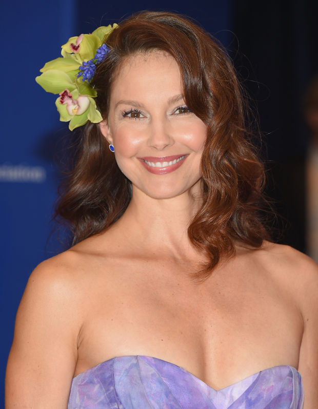 Ashley Judd at the 2015 White House Correspondents' Dinner.