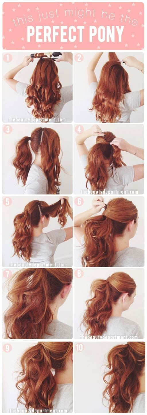 Perfect Ponytail Tutorial