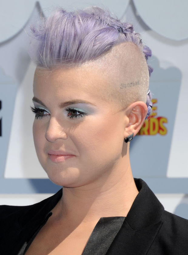 Kelly Osbourne at the 2015 MTV Movie Awards.