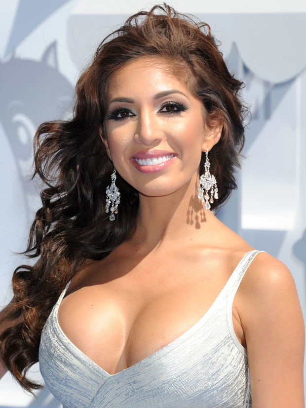 Farrah Abraham at the 2015 MTV Movie Awards.