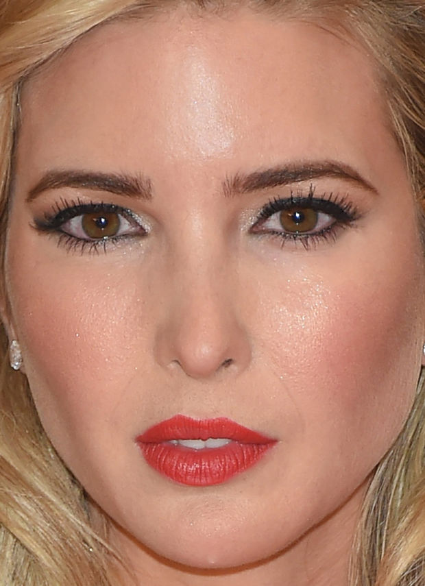 Close-up of Ivanka Trump at the 2015 White House Correspondents' Dinner.