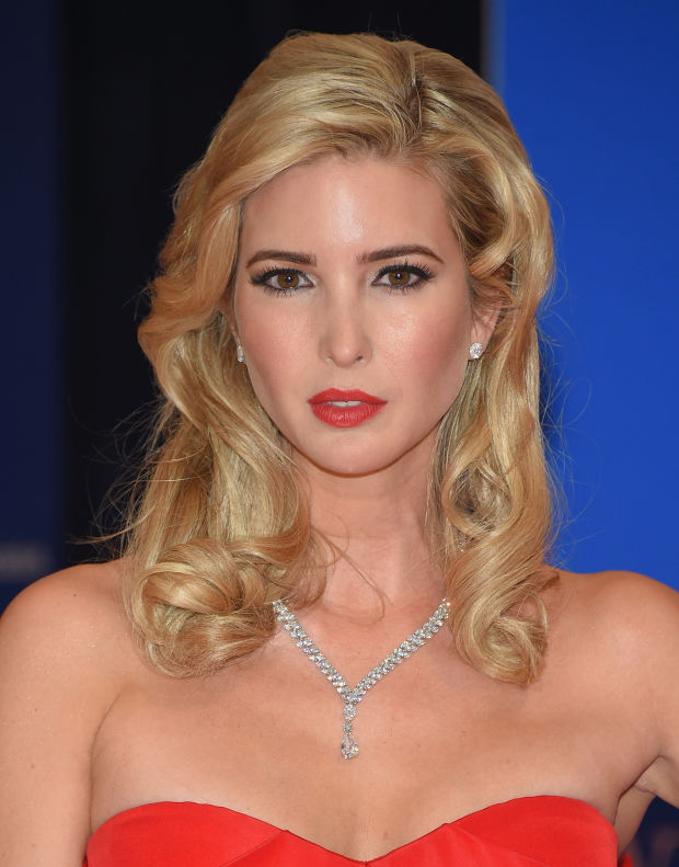 Ivanka Trump at the 2015 White House Correspondents' Dinner.