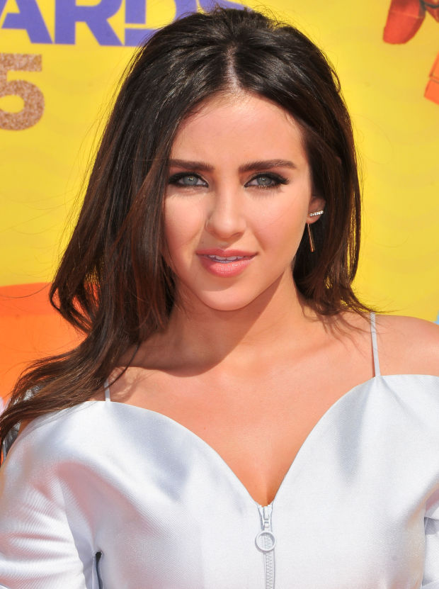Ryan Newman at the 2015 Kids' Choice Awards.