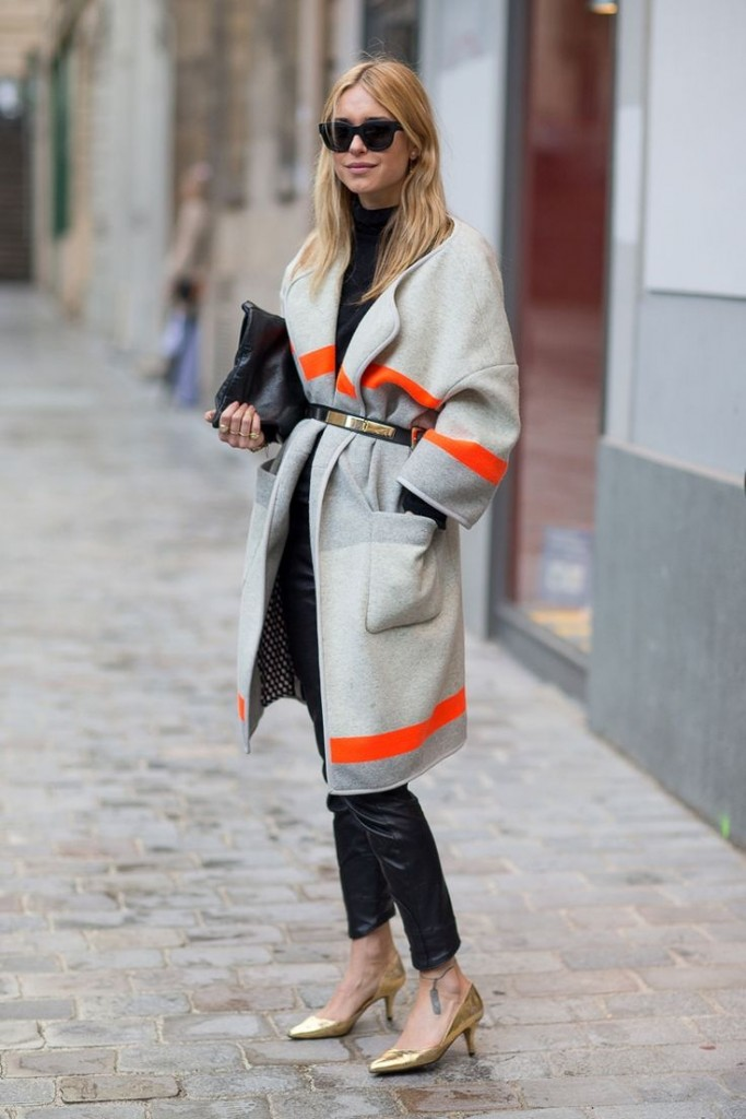 robe coat belted
