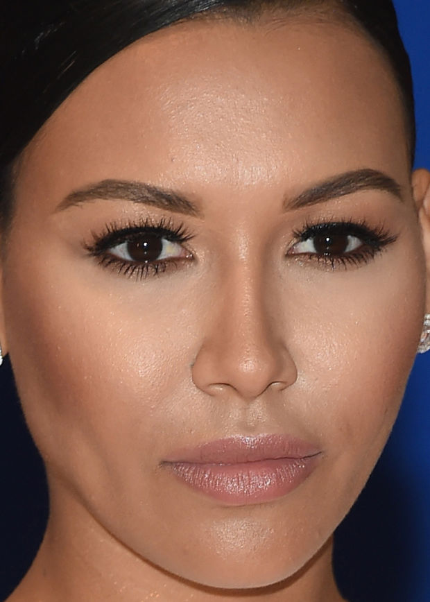Close-up of Naya Rivera at the 2015 White House Correspondents' Dinner.
