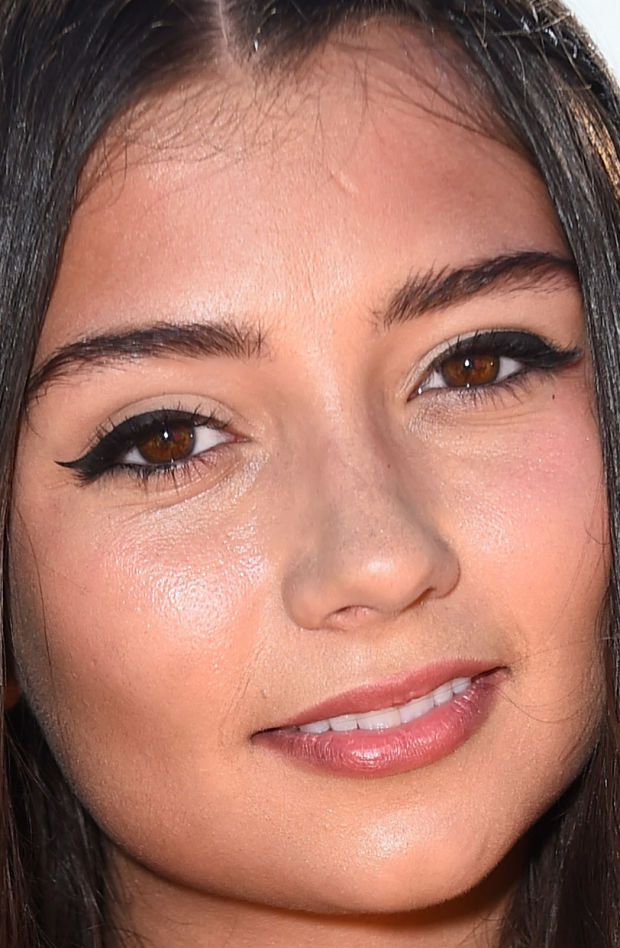 Close-up of Cristine Prosperi at the 2015 Kids' Choice Awards.