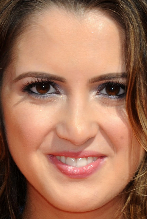 Close-up of Laura Marano at the 2015 Kids' Choice Awards.