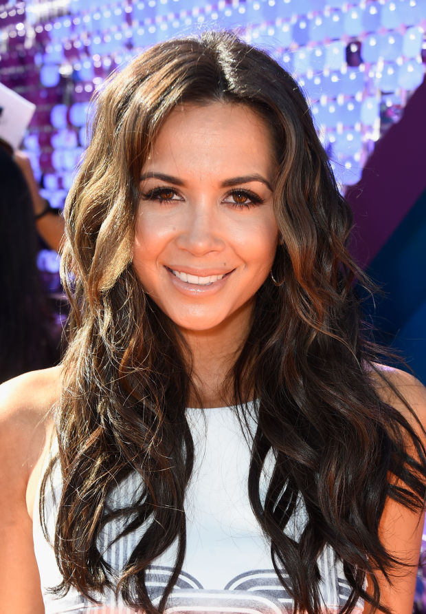 Mandy Capristo at the 2015 Kids' Choice Awards.