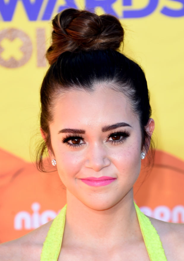 Megan Nicole at the 2015 Kids' Choice Awards.