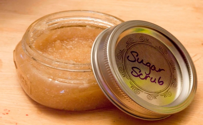 Home- made Sugar scrub