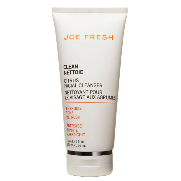 Eva uses the Joe Fresh Citrus Facial Cleanser.