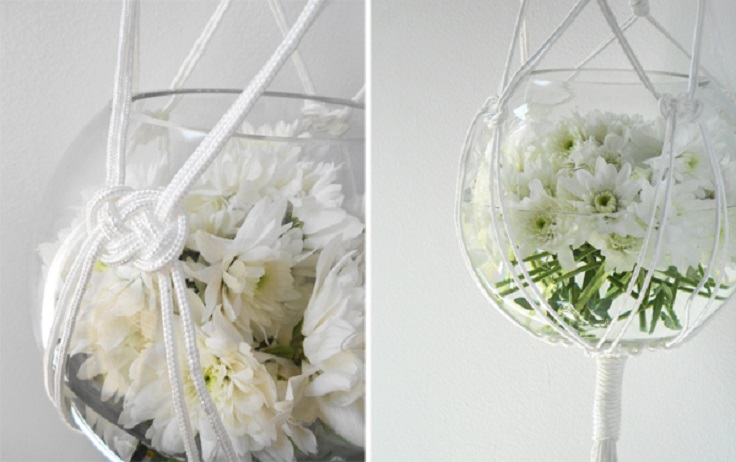 8-Diy-Gifts-You-Can-Make-In-Less-Than-An-Hour-Macrame-Hanging-Vase