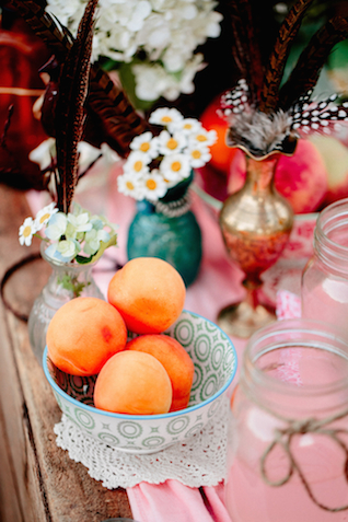 Peaches | Hilary Cam Photography | see more on: http://burnettsboards.com/2015/04/diy-bohemian-love-tent/