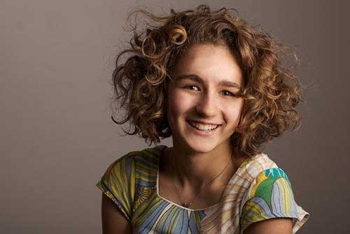 Brief Haircuts For Girls With Curly Hair Short Hair