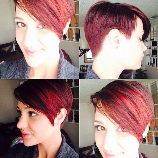 Pretty Hair Color for 2015- 2016: Short Haircut Ideas for Long or Square Faces
