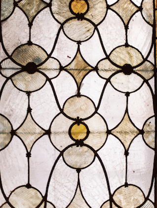 Stained glass window | Lisa O'Dwyer and Prema | see more on: http://burnettsboards.com/2015/04/sargents-bride/