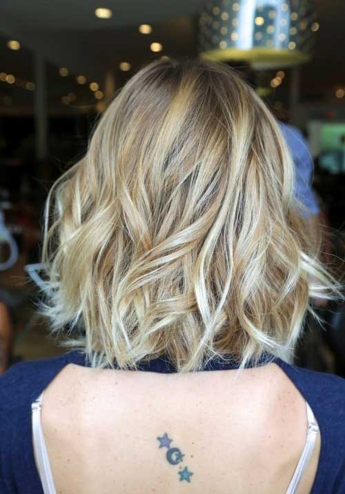 Nice Beach Waves On Short Hair