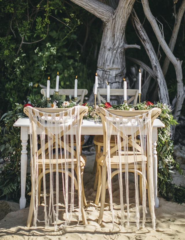 Bohemian wedding reception ⎪ Tina Shawal Photography ⎪ see more on: http://burnettsboards.com/2015/04/island-inspired-bohemian-wedding/