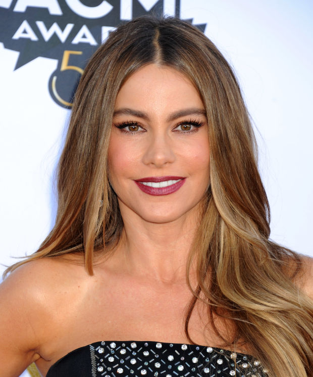 Sofia Vergara at the 2015 ACM Awards.