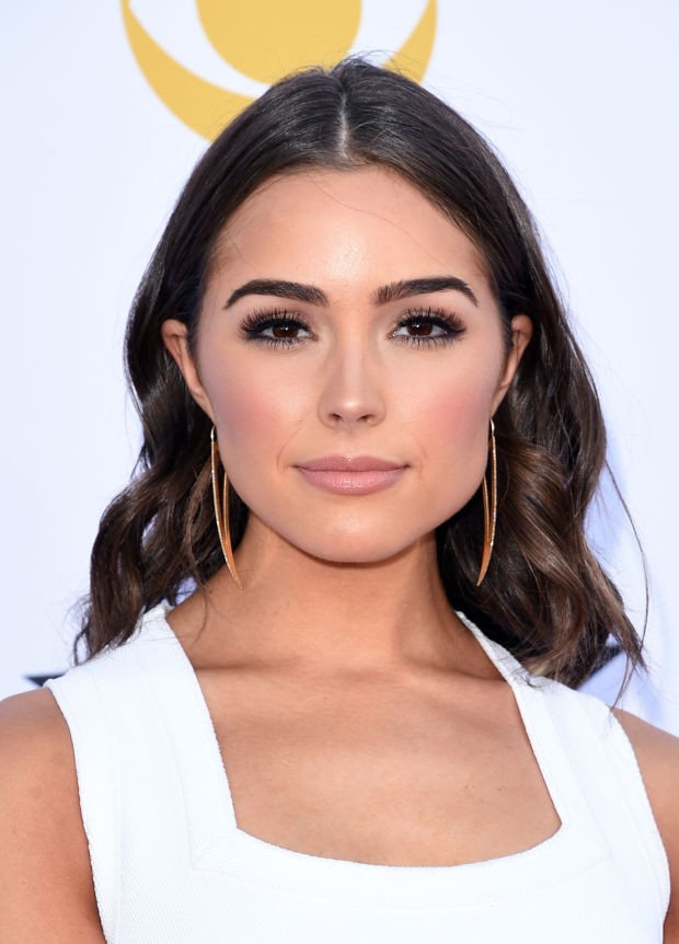 Olivia Culpo at the 2015 ACM Awards.