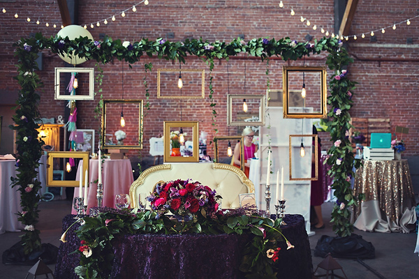 boho wedding decor inspirations - photo: You & Me Photography - http://ruffledblog.com/wanderlust-inspired-wedding-in-los-angeles