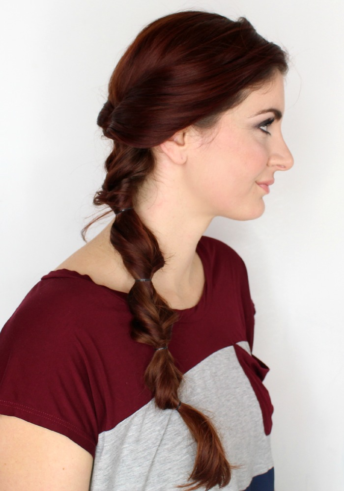 topsy turvy braid for long hair