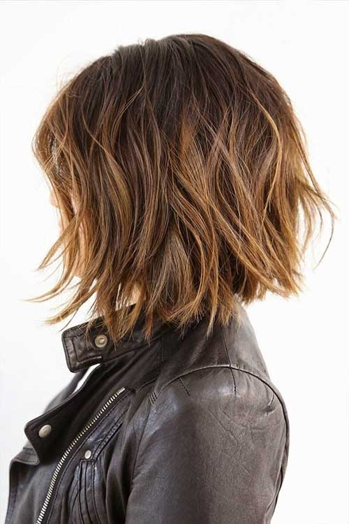 Cute Layered Bobs