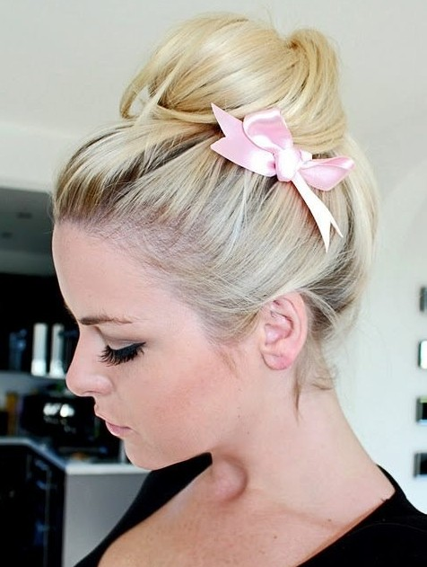 Pretty Bun Hairstyle