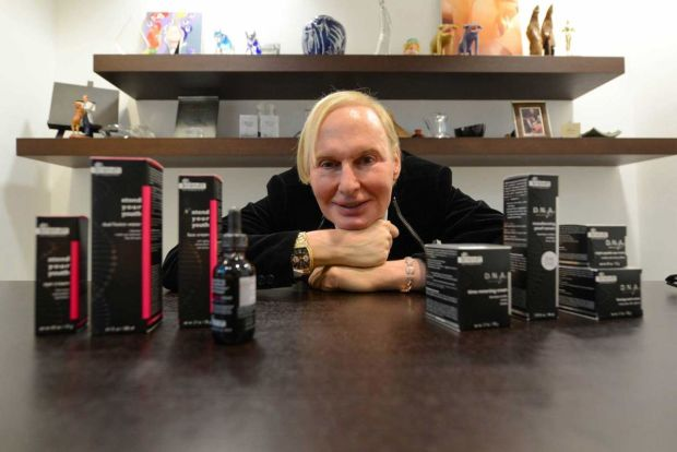 Dr. Fredric Brandt at a skincare launch in 2013.