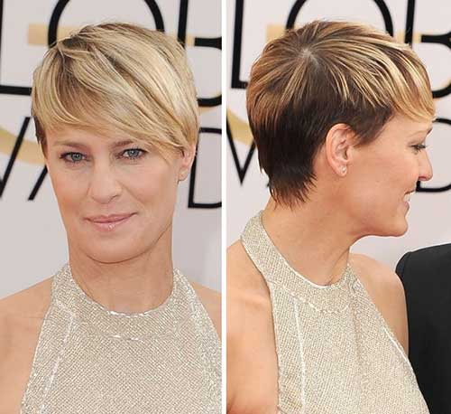 Robin Wright Hair Colored