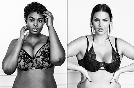 Lane Bryant's takes on Victoria's Secrets perfect body campaign with new lingerie ads.