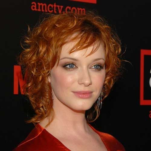 Best Celebrities with Short Curly Hairstyles