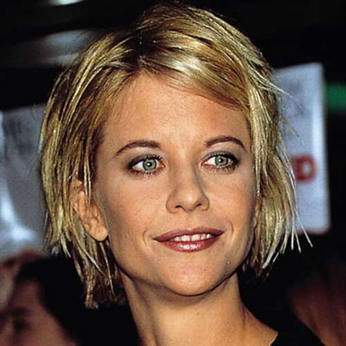 Meg Ryan Shag Haircuts