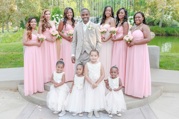 Blush Bridal Party ~ Your Lovely Wedding Photography