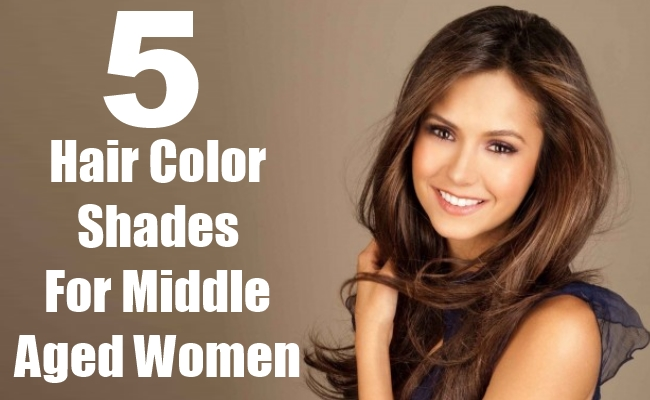 Hair Color Shades For Middle Aged Women