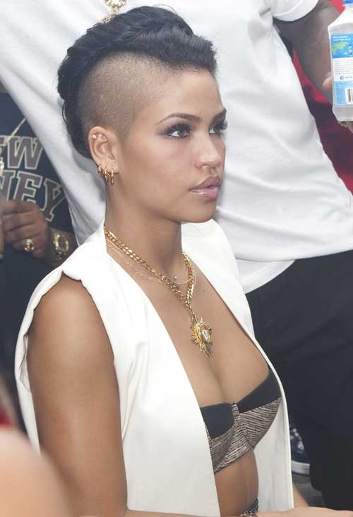 Shaved Natural Mohawk Hair Styles