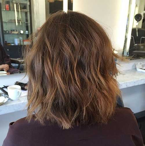 Beach Wavy Bob Long Hair