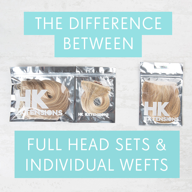 The Difference Between Full Head & Individual Wefts