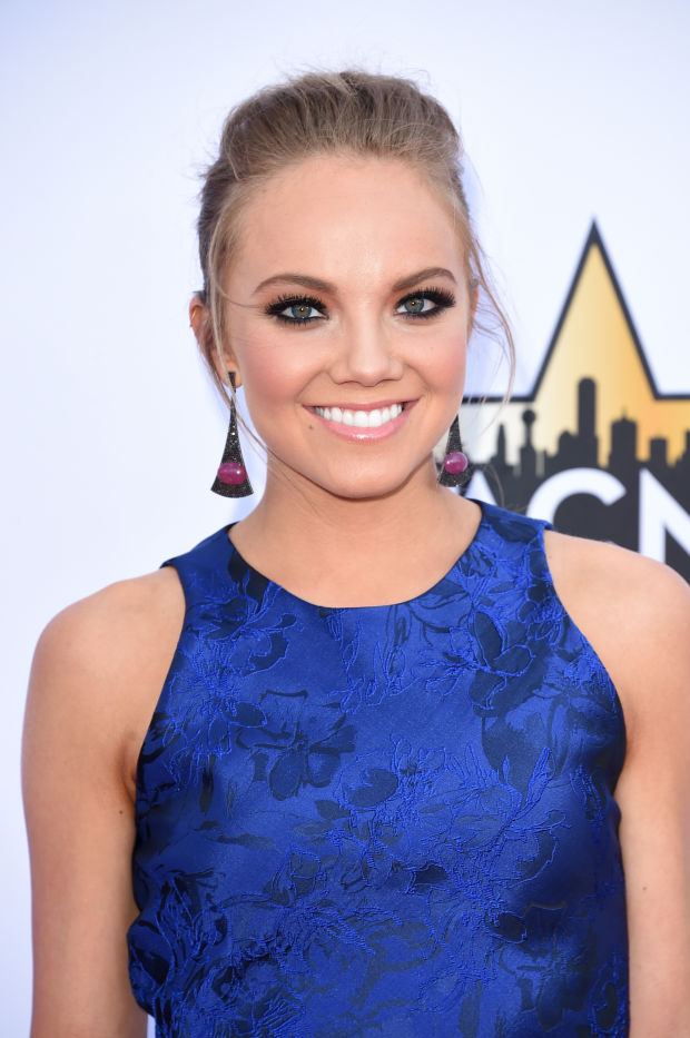 Danielle Bradbery at the 2015 ACM Awards.