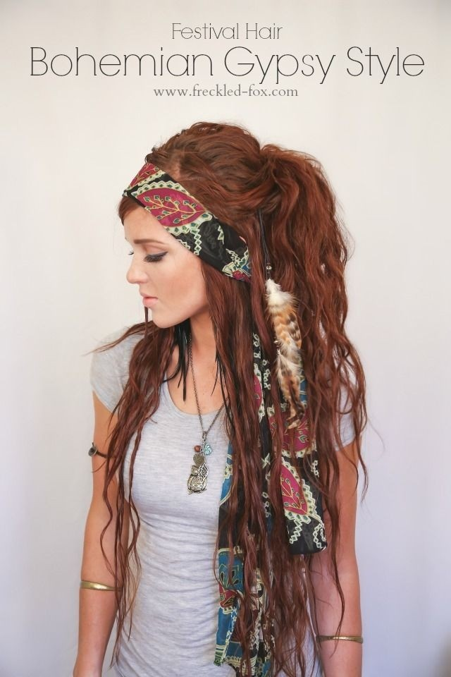 Gypsy Style for Long Hair