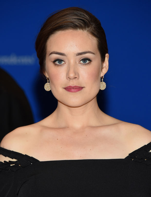 Megan Boone at the 2015 White House Correspondents' Dinner.