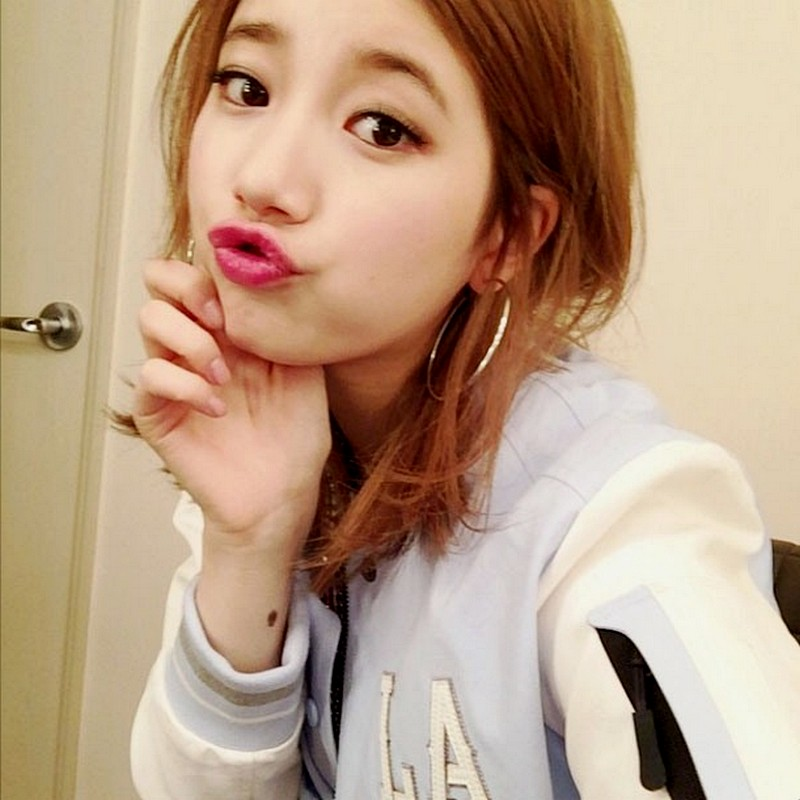 Bae Suzy Miss A Short Hairstyles and Blonde Hair Color