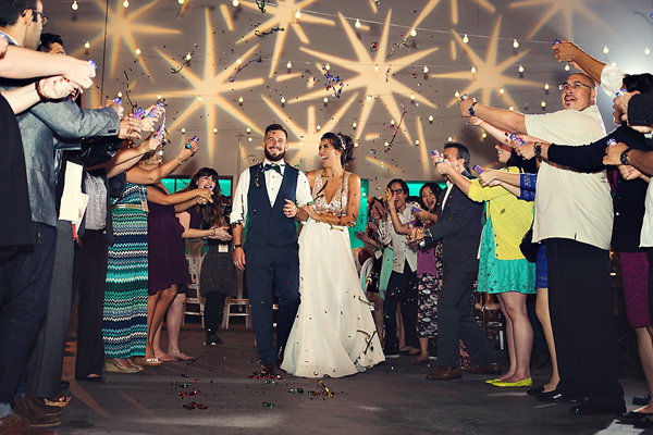 wedding sendoff ideas - photo: You & Me Photography - http://ruffledblog.com/wanderlust-inspired-wedding-in-los-angeles
