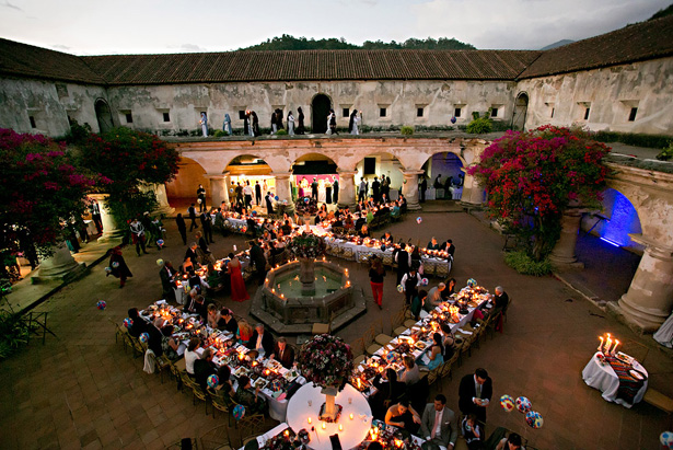 Colonial Wedding Reception