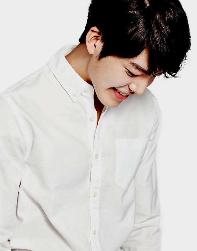 Kim Woo bin Hairstyles 2015 Handsome Hairs with Bangs and Brown Hair Color
