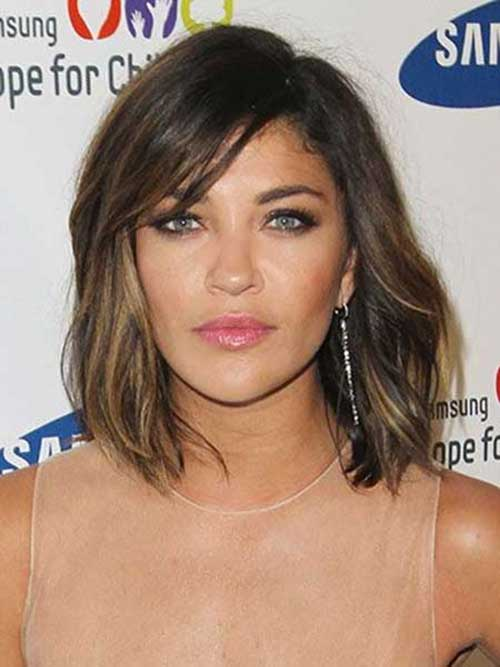 Best Curly Wavy Bob with Bangs Hairstyles
