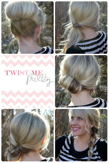 Quick Updo for Medium Length Hair