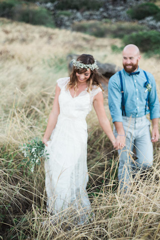 Hawaii wedding | Just B Photography | see more on: http://burnettsboards.com/2015/04/earthy-mountain-elopement-hawaii/