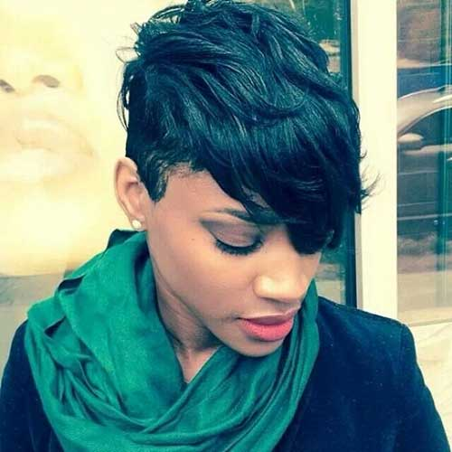 Stunning Short Hairstlyes for the Black Ladies