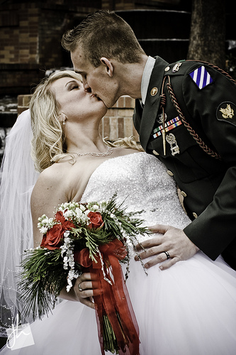 army wedding traditions